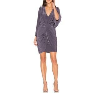 Misa Los Angeles Teget Dress in Slate